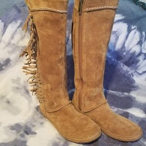 UGG Australia Mammoth Chestnut Brown Suede Leather
